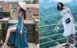 Á hậu 2 Thuý An: 21 tuổi đã sắp đi hết Việt Nam, thần thái check-in sang chảnh như Rich Kid