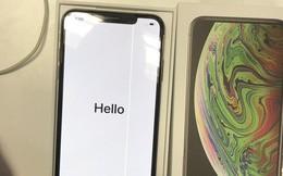 iPhone XS Max vừa mở hộp đã bị lỗi sọc màn hình