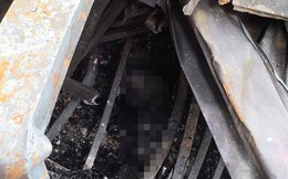 """Tình trạng bệnh nhi nghi là con của 2 vợ chồng chết cháy ở khu nhà trọ ông Hiệp """"khùng"""""""