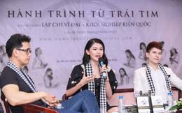 Thùy Dung, Lệ Hằng, Băng Di tặng 3.000 cuốn sách quý cho sinh viên