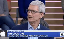"""Tim Cook thừa nhận iPhone XS đắt, nhưng """"xắt ra miếng"""""""