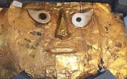 Peru giành lại quyền sở hữu mặt nạ vàng nghìn năm tuổi bị Đức thu giữ