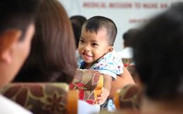 Hàng trăm trẻ em nghèo bị dị tật, hở hàm ếch được mổ miễn phí