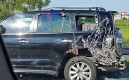Công an Hà Nội đang điều tra vụ tài xế Lexus tử vong