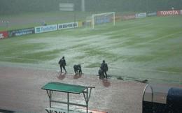 Giải vô địch U16 Châu Á bị hoãn vì mưa lớn, U16 Việt Nam có lý do để lo lắng