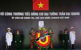 Hành trình đưa linh cữu Chủ tịch nước Trần Đại Quang qua những tuyến phố tại Ninh Bình