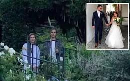 Justin Bieber và Hailey Baldwin bị bắt gặp đứng xem đám cưới người khác trước khi tổ chức hôn lễ của chính mình