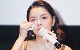 Phạm Quỳnh Anh bật khóc khi bị hỏi về chuyện hôn nhân với Quang Huy