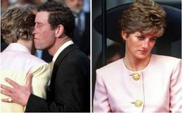 """Hé lộ bí mật đằng sau bức hình Công nương Diana """"phớt lờ"""" nụ hôn của chồng, cố tình quay mặt đi khiến Thái tử Charles bẽ bàng"""