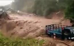 Lũ quét tại Lai Châu, 2 người chết, nhiều tuyến đường chia cắt