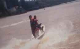 Du khách lái mô tô nước đâm vào tàu du lịch tử vong