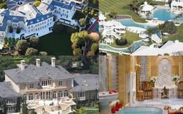 """Loạt """"cung điện"""" khổng lồ gây choáng ngợp của các ông vua bà hoàng Hollywood: Biệt thự cuối từng giữ ngôi đắt nhất nước Mỹ!"""