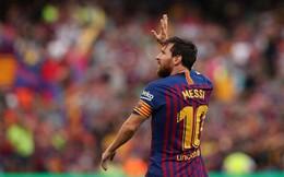 Ronaldinho yêu cầu Barca 'treo' áo số 10 của Messi