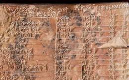 Giải mã phiến đất sét tiết lộ hiểu biết phi thường của người Babylon