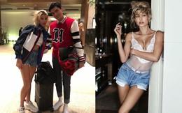 Vợ sắp cưới Justin Bieber tươi cười, chụp ảnh thân mật cùng người mẫu Việt Quang Đại