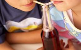 Không nên thường xuyên cho trẻ uống nước có gas