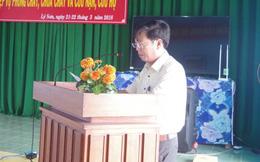 Phó chủ tịch huyện xô xát với lái xe trong quán bia