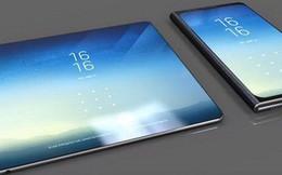 Thêm thông tin về smartphone màn hình gập của Samsung: Gấp mở như cuốn sổ, màn hình chính 7,3 inch, màn hình phụ 4,6 inch