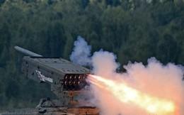 """Thực chiến Syria, """"hung thần nhiệt áp"""" TOS-1A Nga phiên bản mới uy lực và chết chóc hơn"""