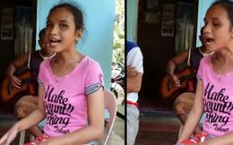 Bị mù và không chút tiếng Anh nào, cô bé người Philippines vẫn gây bão MXH vì cover quá hoàn hảo bản hit của Whitney Houston