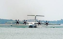 Trung Quốc chạy thử nghiệm thủy phi cơ