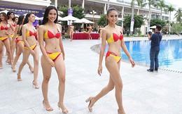 Hoa hậu Hoàn vũ Việt Nam: Vòng thi bikini nóng bỏng và sự cố của Tiêu Ngọc Linh