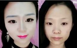 Con gái trước và sau khi tẩy trang: Ảo thôi, đừng ảo quá!
