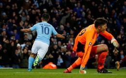 """Sergio Aguero rực sáng, kéo Man City vượt qua """"gáo nước lạnh"""" Burnley"""