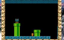 Xem quá trình AI học cách chơi tựa game kinh điển Super Mario Bros theo thời gian thực