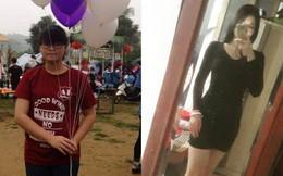 """Bị nhầm với chị gái mẹ, cô bạn cao 1m7 nặng 70kg giảm cân để có thân hình """"siêu chuẩn"""""""