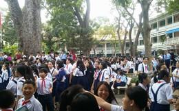 Cháy trường ở Sài Gòn, hàng trăm học sinh di tản khẩn cấp