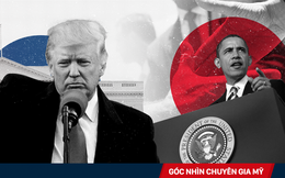 Chỉ sau một năm, ông Trump đã phá tan mọi di sản đối ngoại của ông Obama như thế nào?