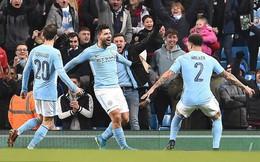 Thắng nghẹt thở ở phút bù giờ, Man City tiến sát danh hiệu đầu tiên