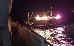 Hai tàu cá bị chìm tại Vịnh Bắc Bộ, 8 người đang mất tích