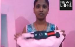 Cô gái Ấn Độ phát minh quần lót gắn camera chống cưỡng hiếp