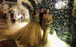 Hàng loạt sao Việt xuất hiện tại đám cưới Lâm Khánh Chi với chồng kém 8 tuổi