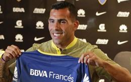 """Tevez trở về Boca Juniors: Tạm biệt """"cơn ác mộng"""" Trung Quốc"""