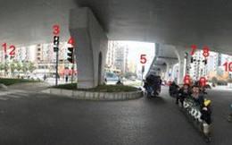 Ngã tư có tới… 37 đèn giao thông khiến người đi xe hoa mắt chóng mặt
