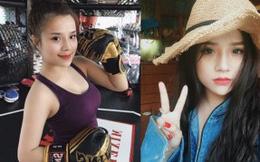 Cận cảnh nhan sắc hot girl Võ Thương giảm stress nhờ tập Gym và Boxing