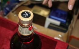 Cần Thơ: Phát hiện 218 chai rượu ngoại không rõ nguồn gốc