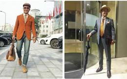 """""""Anh già không có tuổi"""" ở Hà Nội phá vỡ các giới hạn thời trang khiến lớp trẻ ngả mũ!"""