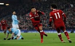 """Thổi bùng lửa Anfield, """"Binh đoàn đỏ"""" thiêu rụi Man City không thương tiếc"""