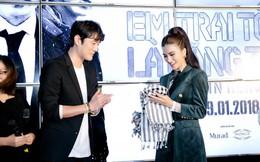 Nam tài tử Jo Han Sun thích thú khi được Kim Tuyến tặng quà độc lạ