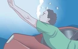 Nếu vô tình cầu sập, ô tô rơi xuống nước thì phải xử lý như thế nào mới an toàn?