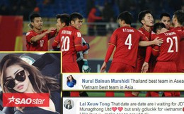 Fan nữ quốc tế: 'Thái Lan xuất sắc nhất Đông Nam Á, nhưng xin lỗi, Việt Nam xuất sắc nhất châu Á'