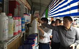 Bộ Y tế kiểm tra đột xuất chợ hóa chất Kim Biên