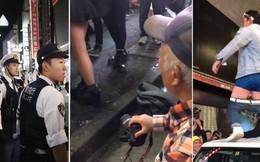 Halloween hỗn loạn ở Nhật Bản: Chống đối cảnh sát, phá hoại đồ đạc, nạn quay trộm và sàm sỡ tràn lan