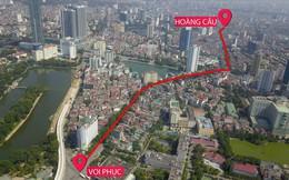 """Toàn cảnh tuyến đường 2,2km """"đắt nhất hành tinh"""" ở Thủ đô"""