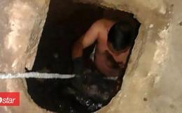 Chuẩn bị đi vệ sinh, người phụ nữ sốc nặng khi nghe tiếng khóc kỳ lạ trong bể phốt và cảnh tượng bên dưới