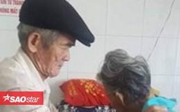 Cụ ông 80 tuổi ân cần chăm sóc cụ bà bị sỏi thận, dân mạng truyền tai nhau 'ngôn tình là đây chứ đâu'
